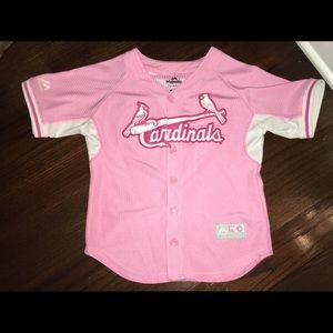 Majestic - Cardinals Pink Jersey
